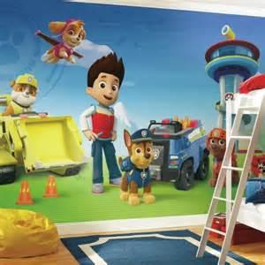 Spongebob Wall Murals paw patrol xl wall mural 10 5 x 6 roommates