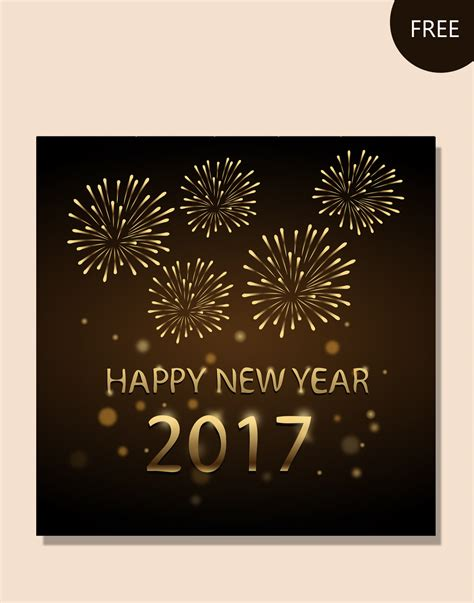 new year templates 2016 new year vector graphic