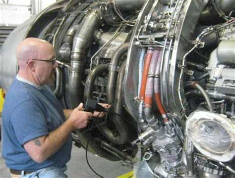 borescopes for aircraft aviation engines study rf system lab