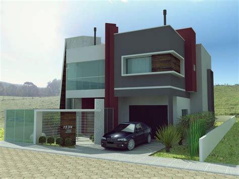 imagenes casas minimalistas modernas wallpapers fachada de viviendas casa moderna d aislada en