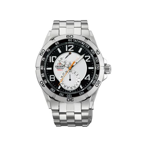 Orient Fune3001b0 Black Silver planet orient black ii silver orient watches touch of modern