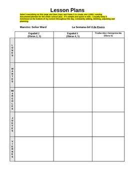 lesson plan calendar templates calendar template 2017