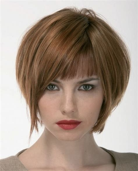 stacked bob haircut with bangs short stacked bob haircuts with bangs let s do hair