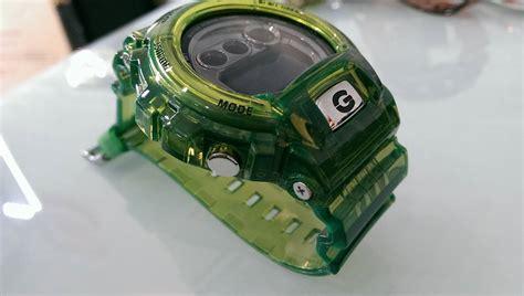 G Shock Dw 6900 Green Transparan live photos g shock transparent gdx 6900