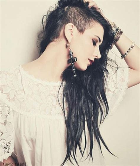 52 of the best shaved side hairstyles 20 collection of shaved long hairstyles