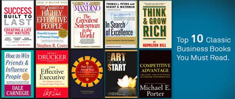 Top Mba Books To Read top 10 classic business books you must read executive
