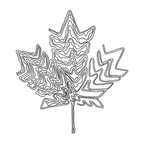 Abstract Leaf Coloring Pages | 167 best canadian maple leaf colouring pages images on