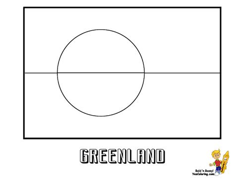 free ghana flag coloring pages