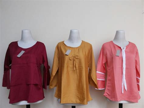 Grosir Baju Murah Wanita Blouse Hanasitha Sw Blouse Wanita Rayon Ban grosir blouse balotelli wanita dewasa termurah 28ribu baju3500