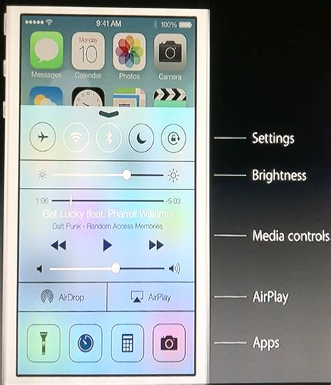 control center themes ios 7 ios 7 features page 3 appledystopia