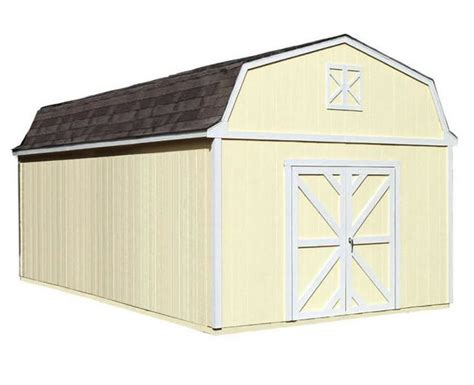 handy home products sequoia  wood storage shed kit
