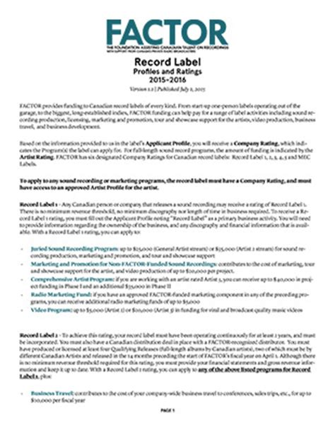 record label business plan template record label business plan sle