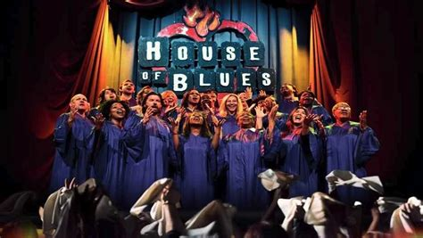 House Of Blues Chicago Gospel Brunch Hot Black Blouse
