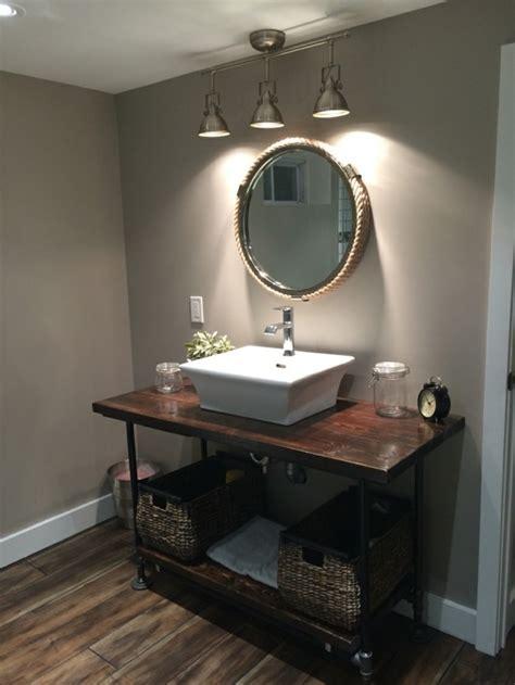 nautische badezimmer dekorieren ideen badezimmerspiegel dekorieren praktische tipps und