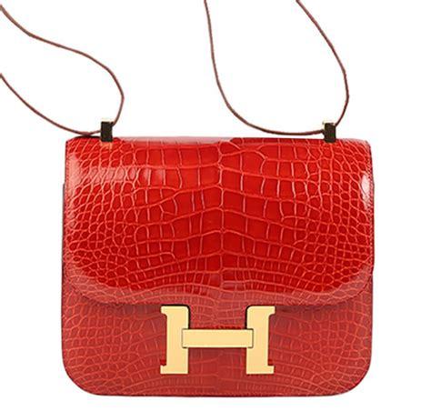 Herms Skin Mini Sling Bag herm 232 s constance 24 bag sanguine alligator baghunter
