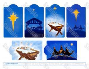 religious christmas gift tags