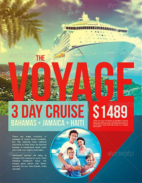 Vacation Cruise Travel Flyer Template Preview Flickr Photo Sharing Cruise Flyer Template Free