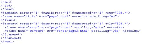 html layout codes how to use frames in html frame design reviews