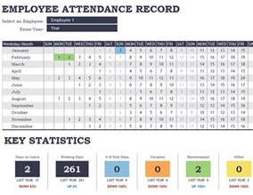 employee attendance template employee attendance tracker office templates