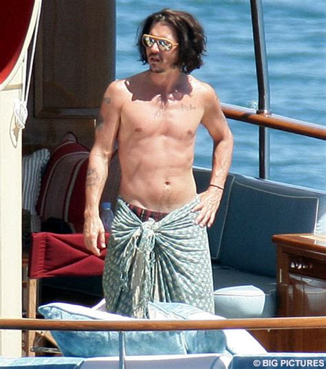 ahoy there johnny depp sets sail on romantic voyage