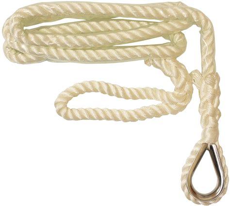 boat anchor rope 2 5m x 20mm mooring anchor line sailing boat rope narrow