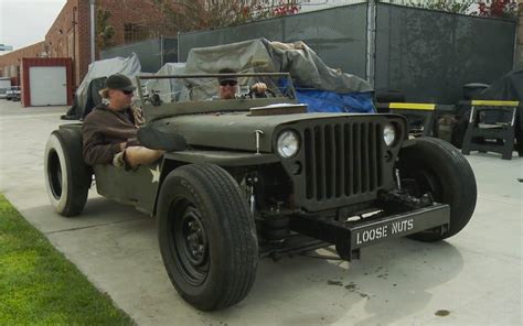 Jeep Rat Rods Roadkill Drives A Ratty Jeep Rat Rod From L A To Arizona