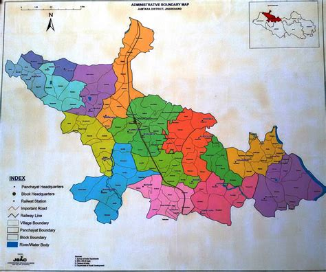 map  district district jamtara government
