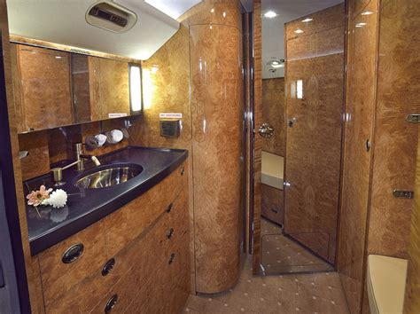 private plane bathroom inside tesco s luxury private jet now on sale for 163