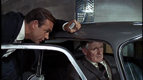 desmond llewelyn car crash 007 one by one goldfinger
