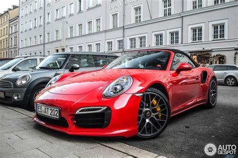 Porsche 911 Turbo S Red by Tomato Red Porsche 991 Turbo S Looks Delicious