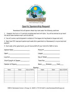 sponsorship letter template for sports team sponsorship letter template for sports team