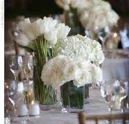 white flowers for centerpieces wedding preparation white wedding flower centerpieces