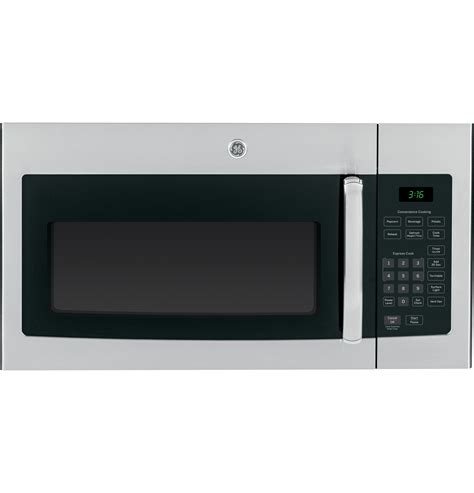 over the range microwave ge 174 1 6 cu ft over the range microwave oven