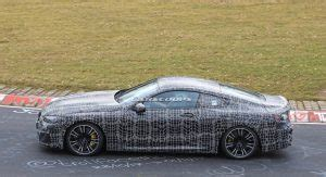 bmw m8 coupe and convertible spied next to each other