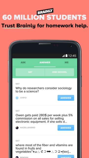 aptoide help brainly homework help solver download apk for android