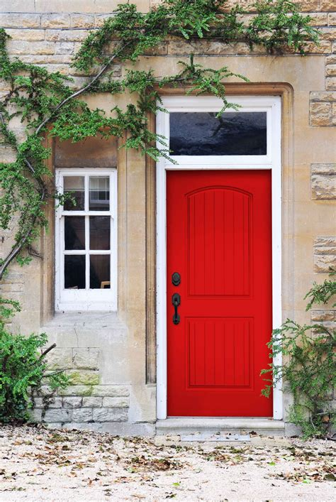 drsg red door plastpros smooth skin doors   long