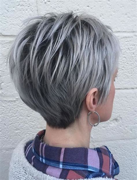 Grey Bob Hairstyles by The 32 Coolest Gray Hairstyles For Every Lenght And Age