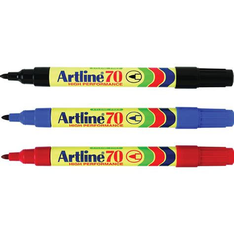 Artline Tinta Spidol Permanen spidol artline 70