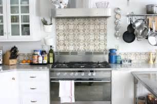 concrete tile backsplash create a decorative kitchen backsplash with cement tiles