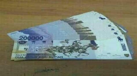 Harga Me 20 Baru bi membantah beredarnya foto uang kertas pecahan rp 200