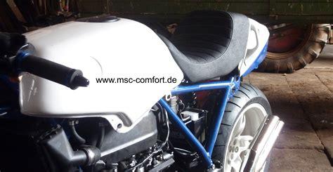 Motorrad Sitzbank Scrambler by Bmw Scrambler Msc Sattlerei