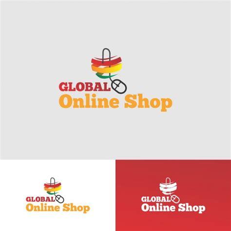shopping logo templates shop logo design vector free
