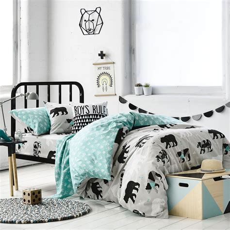adairs bedding warm and cosy the adairs kids cotton flannelette range