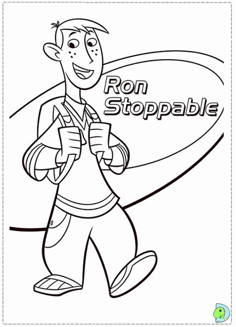 Kim Possible Coloring Coloring Home Possible Coloring Pages