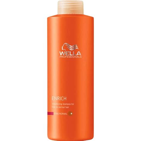 hair products for fine wiry hair wella enrich shoo fine 1000ml 163 8 99 gilmor hair
