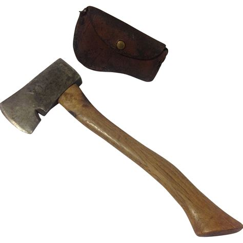 ax hatchet vintage collins official boy scout ax axe hatchet