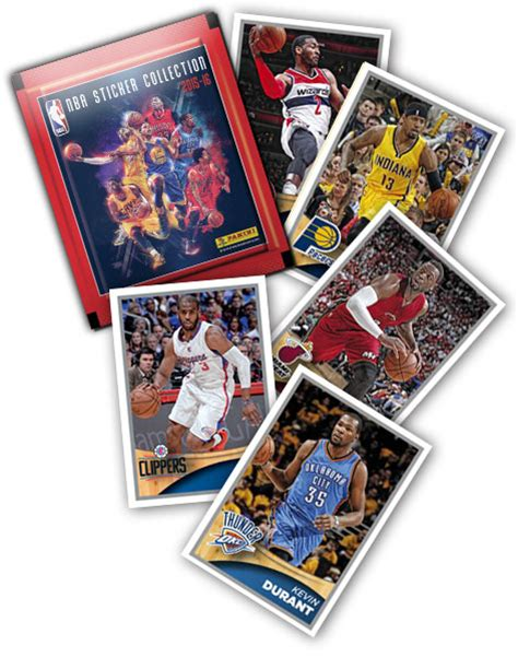 Kartu Basket 2017 Panini Bryant panini nba 2015 16 sticker collection