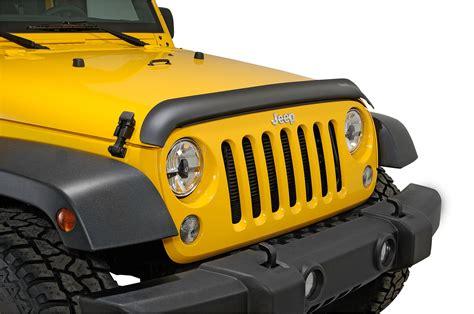 Jeep Wrangler Bug Deflector Rugged Ridge 11348 02 Bug Deflector In Matte Black For 07