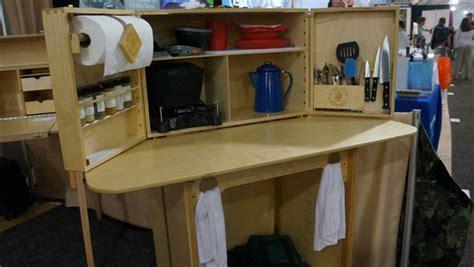 Portable Kitchen Island With Storage My Camp Kitchen The Summit 50 Campfires