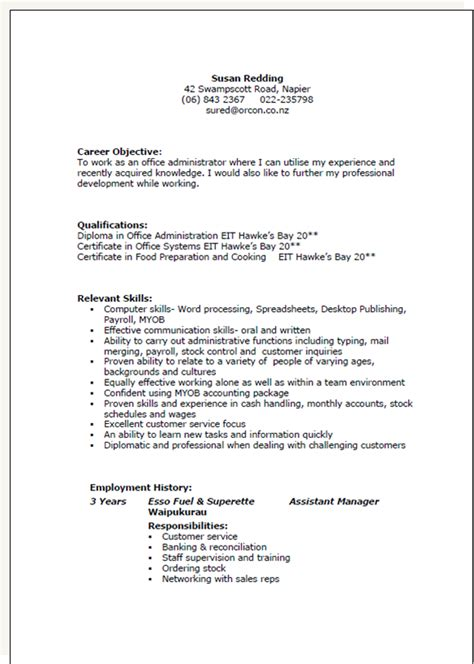 Resume Templates Nz Resume Template Nz Free Excel Templates